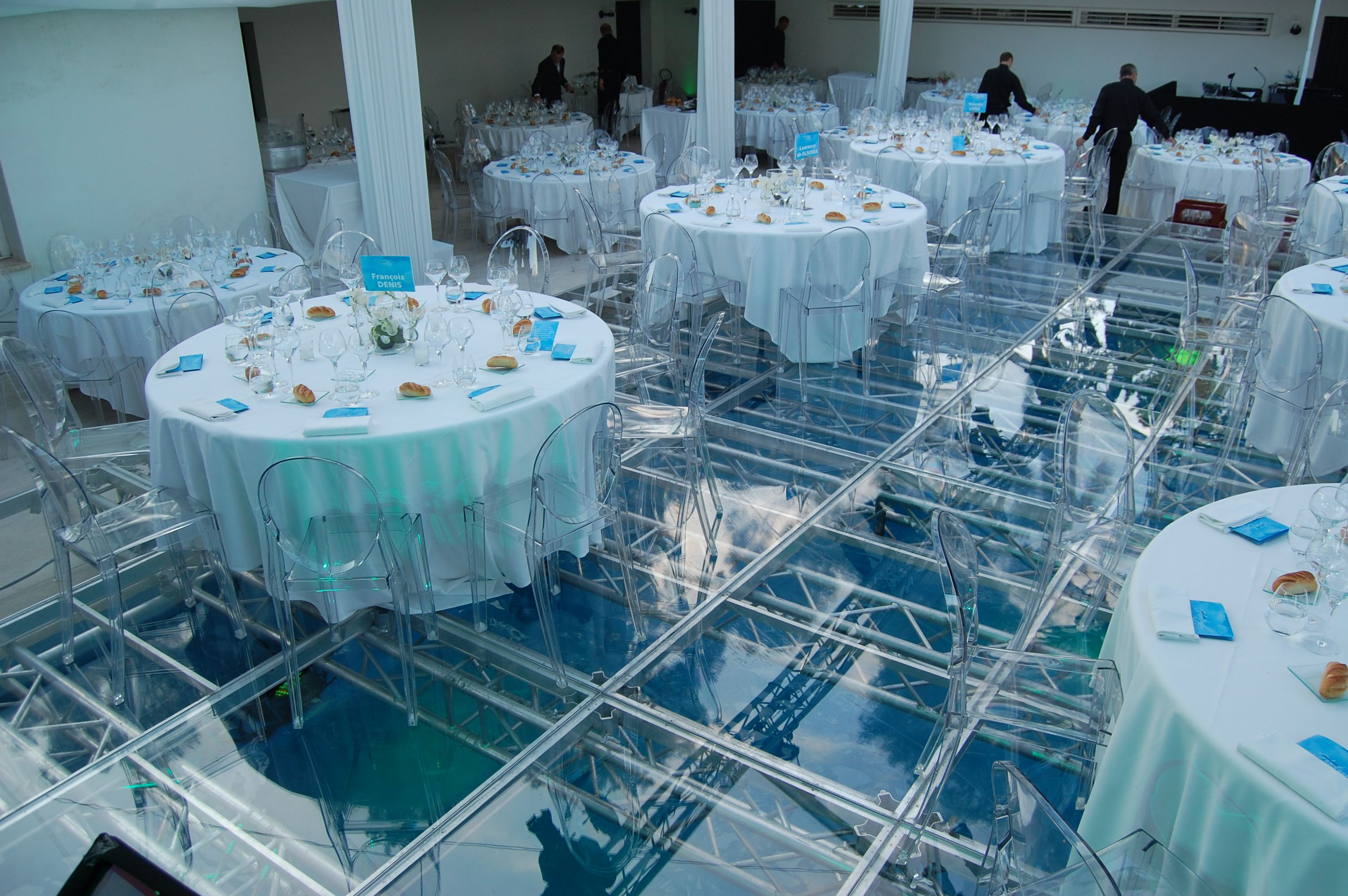 Is a swimming pool or a dance floor with adams adams for Pool floor