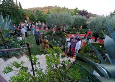 Summer Art Exhibition Garden Party